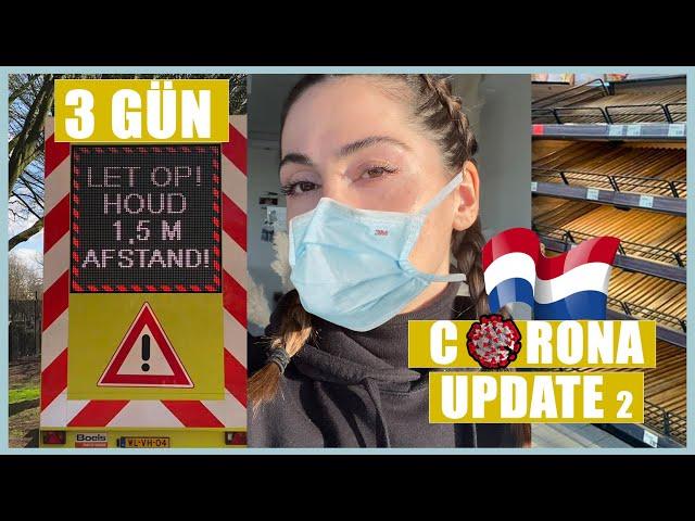 HOLLANDA KORONA VIRUS UPDATE VLOG! ÖNLEMLER VE CEZALAR! EVDE NE YAPILIR? 9.000+ VAKA