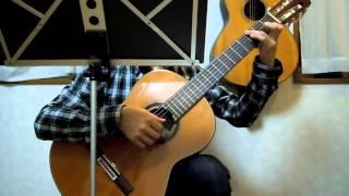 ビートルズ「イエスタデイ(Yesterday)」ソロギター(クラシックギター)