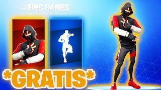 SO you get the IKONIK Skin FREE in FORTNITE! (FREE Ikonik Skin) | Fortnite Season 9