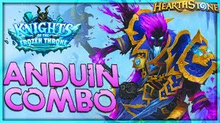 Shadowreaper Anduin Combo Priest Deck Tech 🌟 HEARTHSTONE  | Frozen Throne Legend