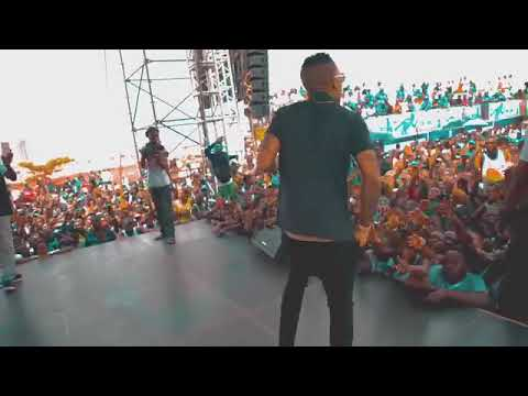 Tekno My on the stage performance 2018