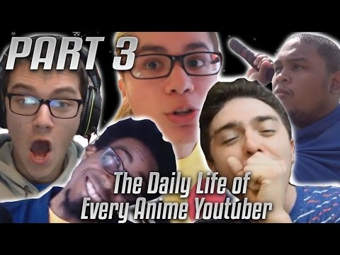 The Daily Life of Every Anime Youtuber Part 3 - Holiday Special!