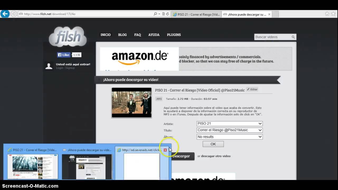 descargar musica mp3 de youtube gratis sin instalar programas