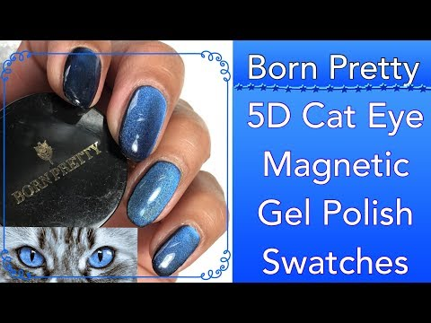NEW 5D Cat Eye Magnetic Gel Polish Magic Starry Sky Series  || Born Pretty || Discount Code MANHX31