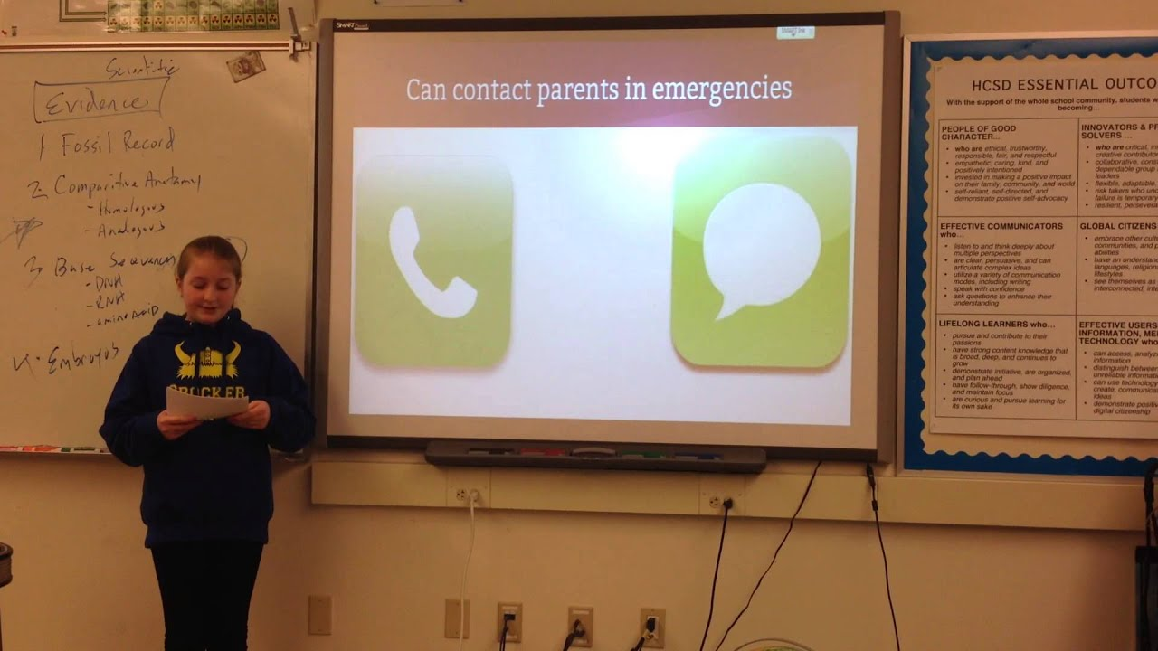 Cell phone persuasive speech