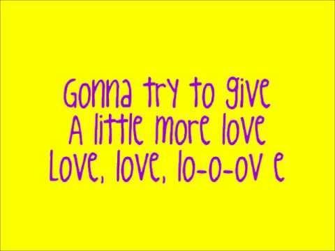 A Little More- The Ready Set (lyrics)