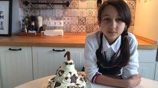 Трехуровневый  торт из каталога IKEA на годовщину нашего канала. Готовят дети.(, 2016-03-19T08:25:50.000Z)