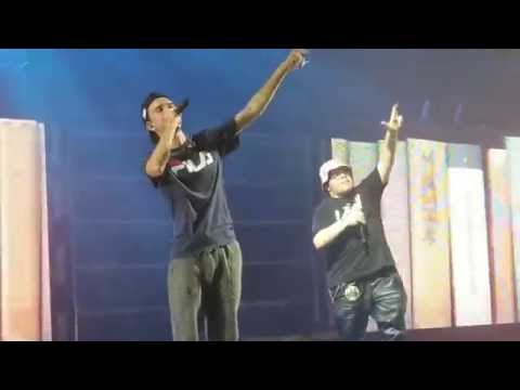 Logic & Just Juice Freestyle Live at Xfinity Center in Mansfield, MA 8/3/2016