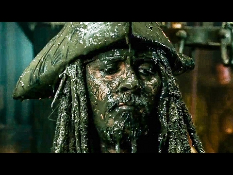 PIRATES OF THE CARIBBEAN 5 Trailer 1 + 2 (2017)