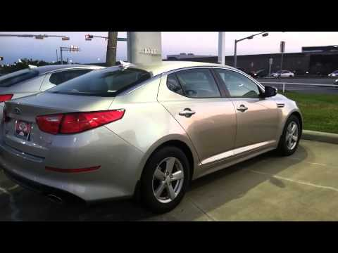 2015 kia optima lx satin silver metal youtube. Black Bedroom Furniture Sets. Home Design Ideas