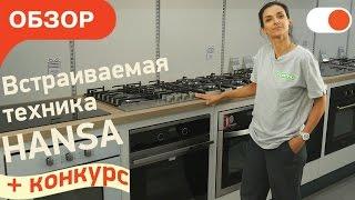 Обзор встраиваемой техники Hansa для современной кухни