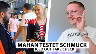 Justin reagiert auf Mahan's neuen Iced Out FAKE Check.. | Reaktion