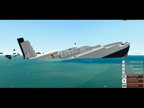 From the Depths! Sinking the QE2! (Minecraft Design)