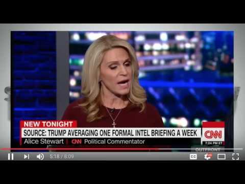 Alice Stewart on CNN debating Trump tweets Jan 5, 2017