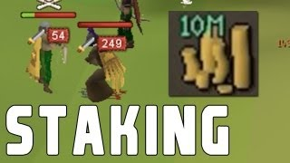 RuneScape F2P Staking - Back in 2011 #2! | RunescapersOwnU PK VID #51