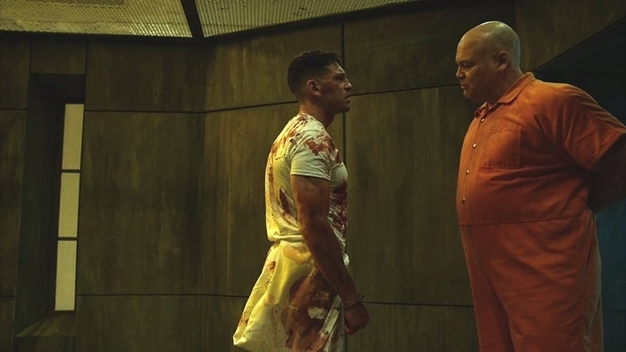 Image result for daredevil fights kingpin tv series