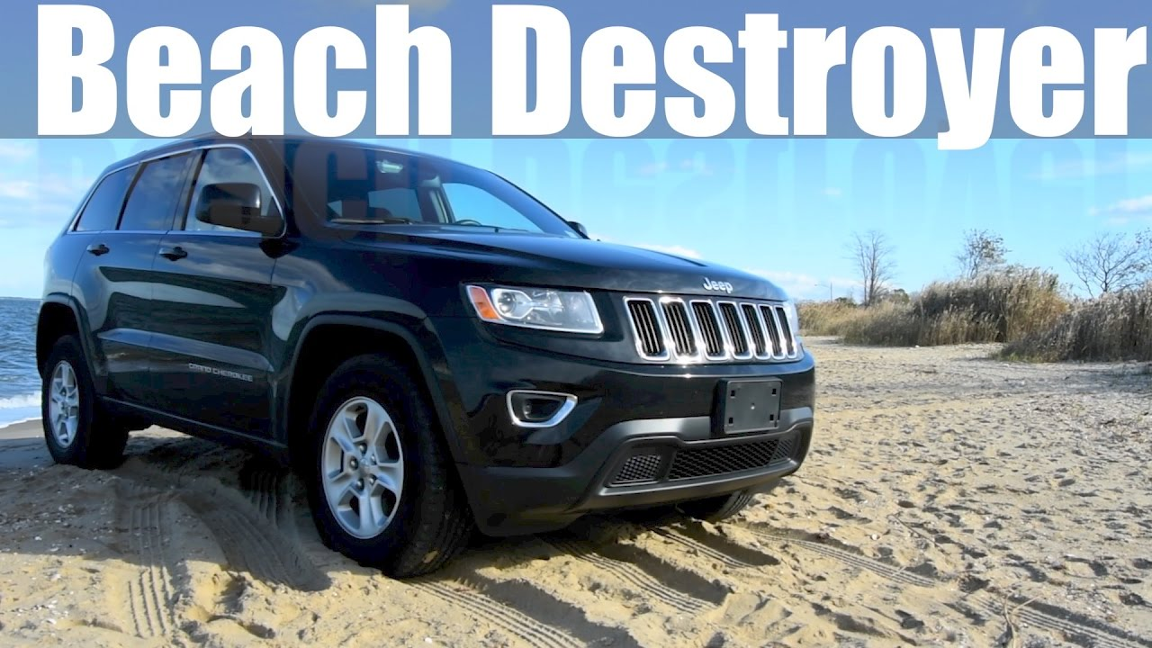 2016 jeep grand cherokee laredo review and beach bash youtube. Black Bedroom Furniture Sets. Home Design Ideas