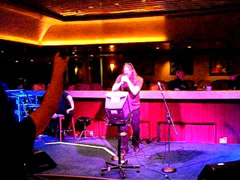 70000 Tons of Metal Karaoke - System of a Down's Aerials by JH of Amon Amarth