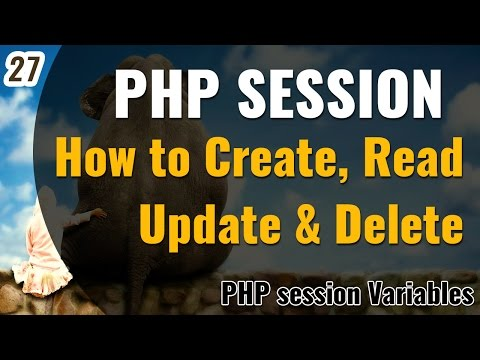 PHP SESSION in Hindi | How to create read update and delete Session | Learn PHP in Hindi