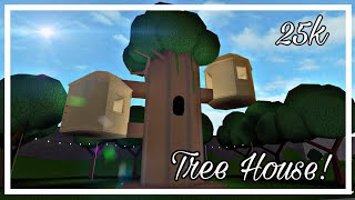 ROBLOX | Bloxburg: casa da árvore (25K)