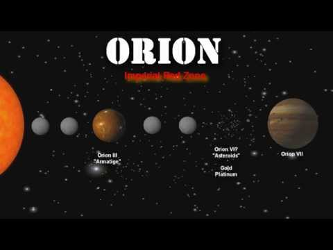 Star Chart: A travellers Guide to Orion