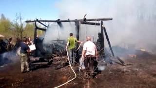 Пожар в Пупышево