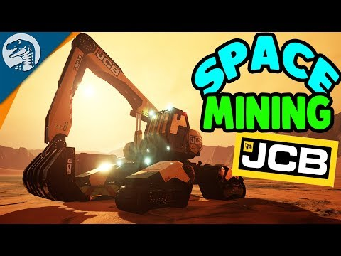 MINING A $1,000,000,000,000 PLANET - JCB Pioneer: Mars Gameplay