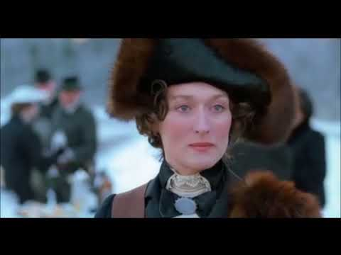Out of Africa opening credits - Meryl Streep