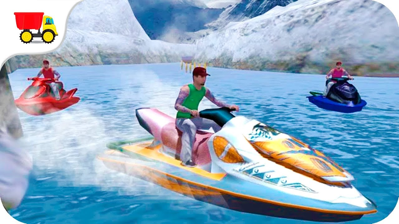 Bike Racing Games Jet Ski Driver Gameplay Android Free Games