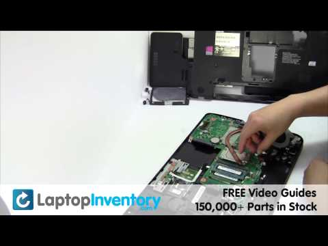 Toshiba Satellite C50 C55 FAN Replacement Motherboard Replacement Replace Fix Install Laptop