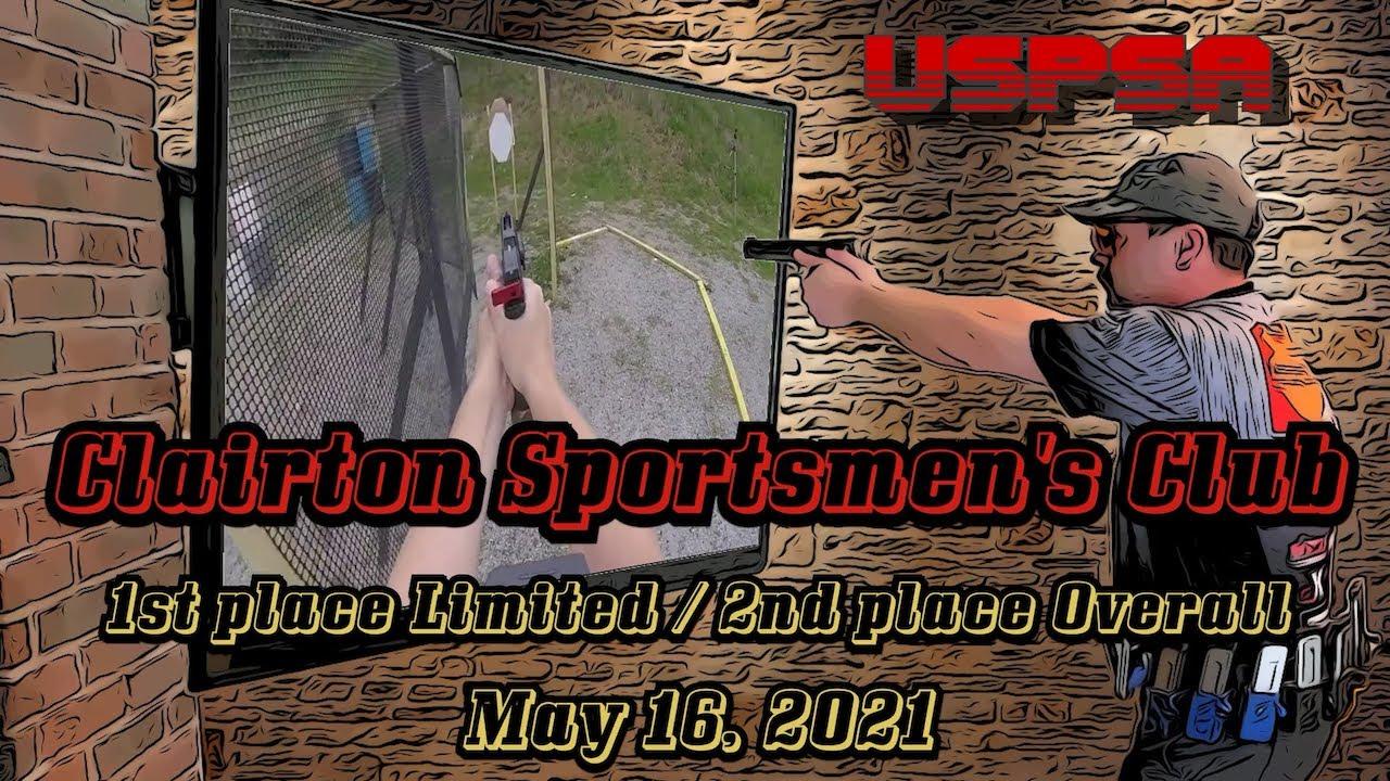 USPSA @ Clairton - May 2021 - Limited