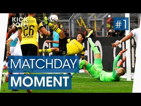 Dortmund's Axel Witsel goal vs Leipzig! | Bicycle kick | Bundesliga highlights