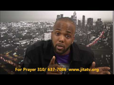Actor Tyrone Burton Preaches for JITA TV and LA Praise TV