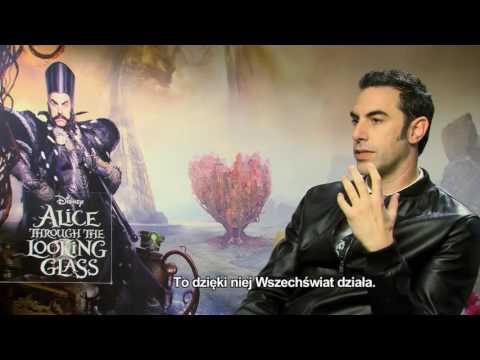 Alicja po drugiej stronie lustra - Sacha Baron Cohen - wywiad