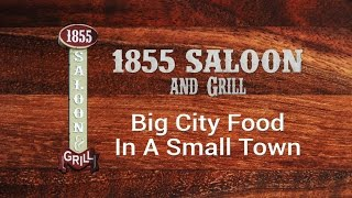 1855 Saloon And Grill | Margarita Shrimp, Wild Berry Salmon