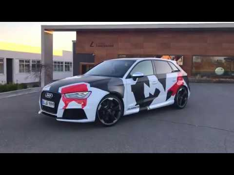 Wrapping Audi Rs3 Nurnberg Germany