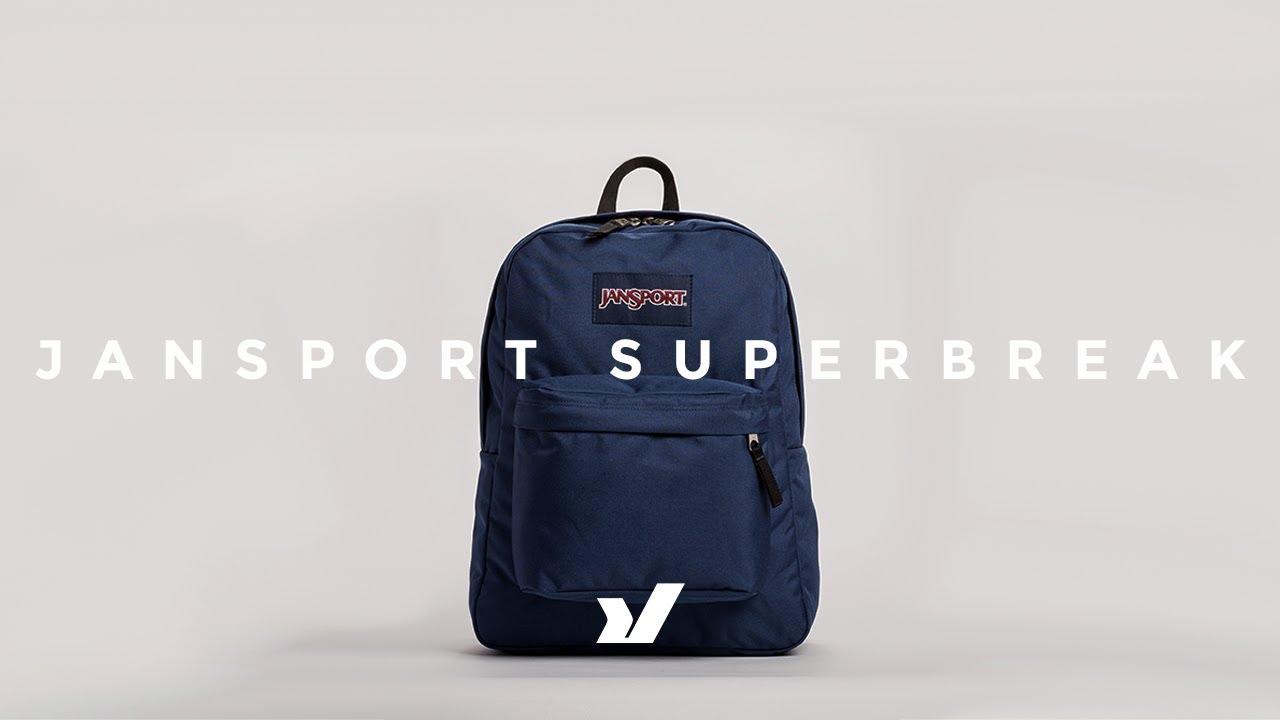 b9020449b9a4e The Jansport Superbreak Backpack - YouTube