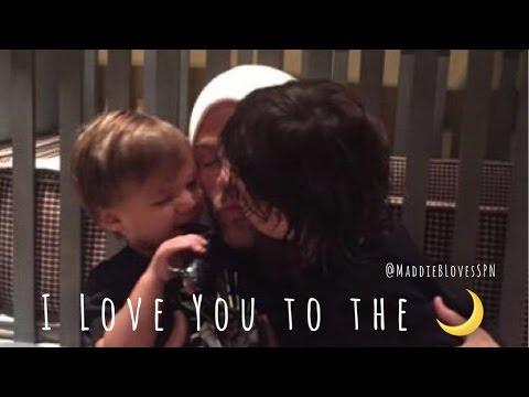 Padalecki Family - I Love You to the Moon 🌙
