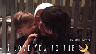 Padalecki Family - I Love You to the Moon 🌙
