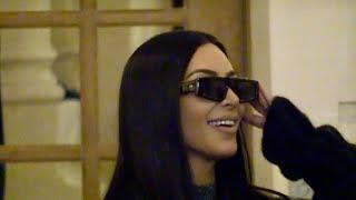 Baixar EXCLUSIVE : Gorgeous Kim Kardashian goes favorite restaurant in Paris