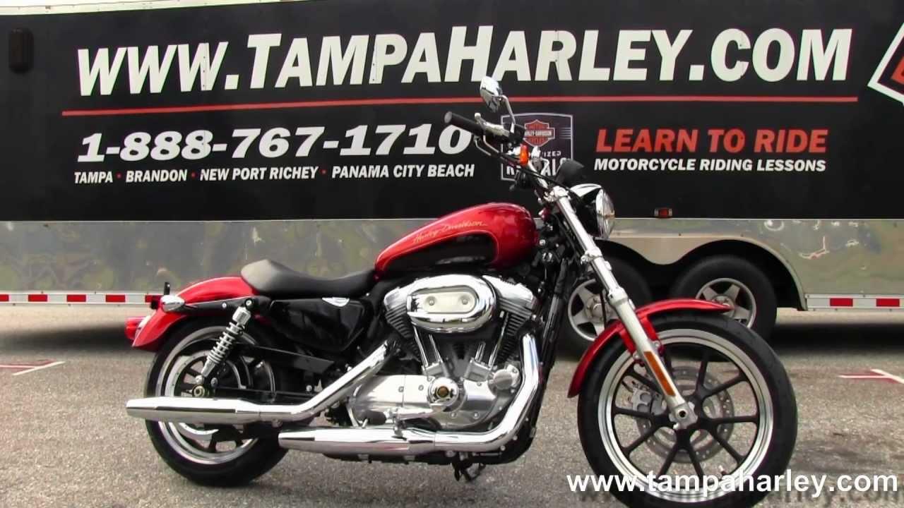2013 New Harley-Davidson Sportster Super Low XL883L - YouTube