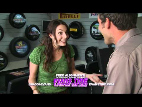Evans Tire Alignment Commercial
