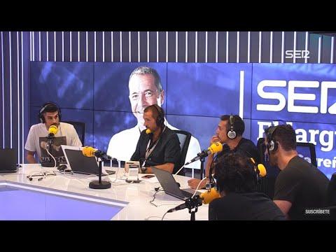 El Sanedrín de El Larguero con Álvaro Benito, Kiko Narváez, Gustavo López, Raúl Ruiz e Iturralde