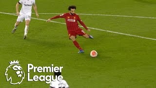 Mohamed Salah equalizes for Liverpool v. West Ham | Premier League | NBC Sports
