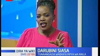 Darubini ya siasa: Je, Raila ni mjumbe maalum wa rais? I Dira ya Wiki