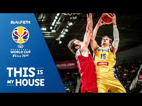Sweden v Turkey - Full Game - FIBA Basketball World Cup 2019 - European Qualifiers