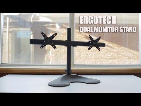 30 Diy Dual Monitor Stand Doovi