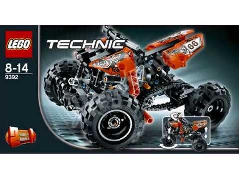 LEGO Technic show Vyskov 2012 - motorized truck unloading - YouTube