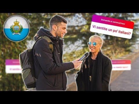 'I SAMMARINESI si sentono ITALIANI ?' Domande a San Marino - thepillow