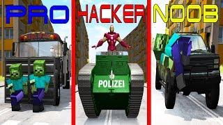 NOOB vs PRO vs HACKER crashes #17 - Beamng drive
